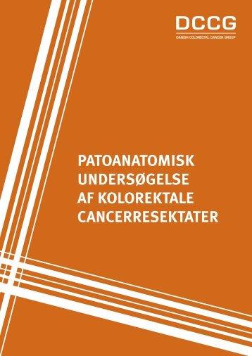 patoanatomisk undersøgelse af kolorektale ... - Om DCCG