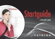 Startguide - Autolog