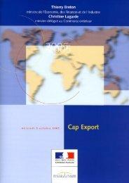 Consulter l'ensemble du dossier Cap Export - Costkiller