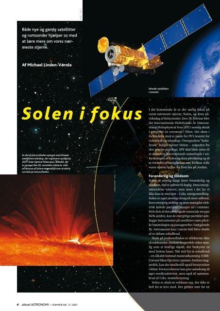 Solen i fokus - Horsens HF og VUC