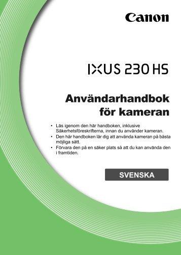 Användarhandbok för kameran