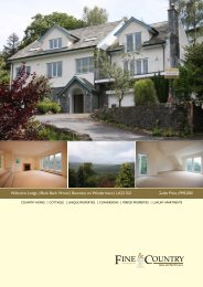 Welcome Lodge   Black Beck Wood   Bowness on ... - Fine & Country