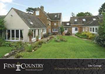 Lilac Cottage 10 Daventry Road | Barby | Rugby ... - Fine & Country