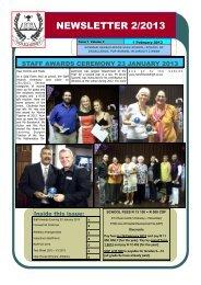 NEWSLETTER 2/2013 - Norman Henshilwood High School