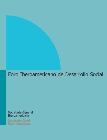 Foro Iberoamericano de Desarrollo Social - Segib