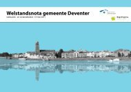 Welstandsnota gemeente Deventer