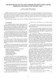 method for solving multiple criteria decision making (mcdm)