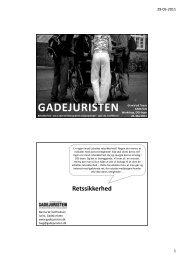 Slides fra Nanna Gotfredsens oplæg - Gravid på Tværs