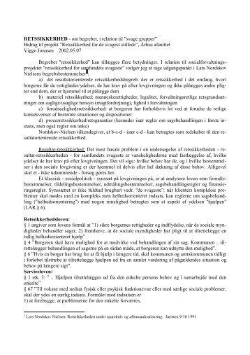 RETSSIKKERHED pdf - Viggojonasen.dk
