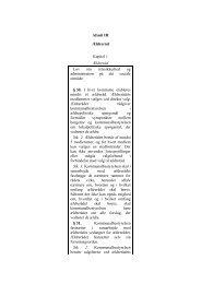 Afsnit III Ældreråd Kapitel 1 Ældreråd Lov om retssikkerhed og ...