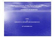 Financial Development and FDI - DAAD partnership on economic ...