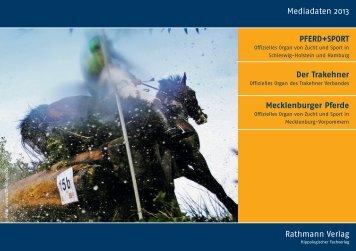 Mediadaten 2013 Rathmann-Verlage - Der Trakehner