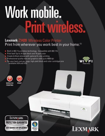 Wireless Color Printer