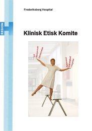 Klinisk Etisk Komite - Frederiksberg Hospital
