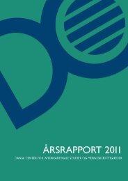 DCISM. Årsrapport 2011