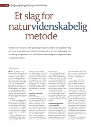 Et slag for naturvidenskabelig metode - Elbo