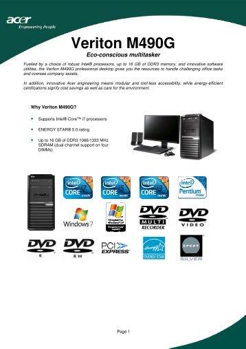 Acer Veriton X488G NVIDIA Display Driver Windows XP