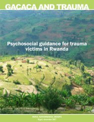 gacaca and trauma - Office for Psychosocial Issues › OPSI Consult ...