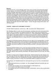 Resume: Hvad skal der til for, at den offentlige sektor bliver mere ...
