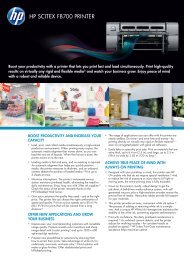 Download Hp Scitex Fb700 Printer PDF