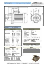 DM1 132 M6 B14a - Stoewer-Getriebe.de