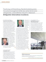 New Business – Das Magazin für Unternehmer, Nr ... - Know-Center