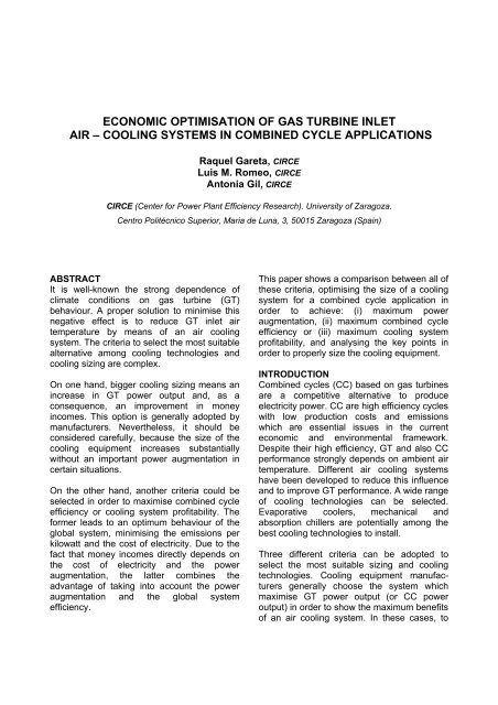 Economic optimization of gas turbine air-cooling systems in