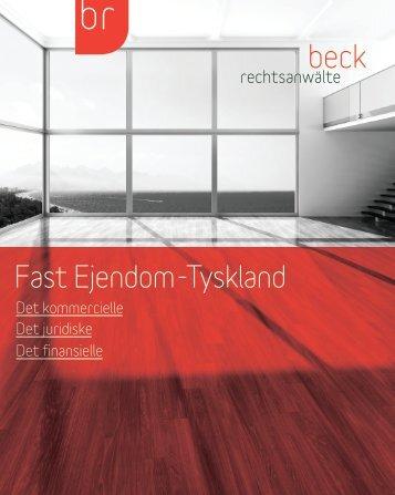 Fast Ejendom-Tyskland - beck rechtsanwälte