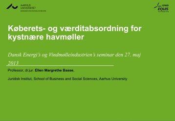 Ellen Margrethe Basse: Køberets - Dansk Energi
