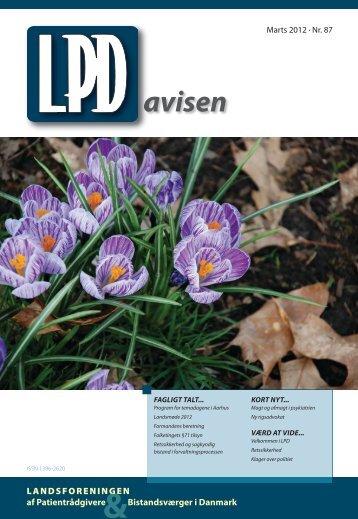 Nummer 87 (marts 2012) - Landsforeningen af Patientrådgivere ...