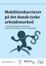 Mobilitetsbarrierer på det dansk-tyske arbejdsmarked - Region ...