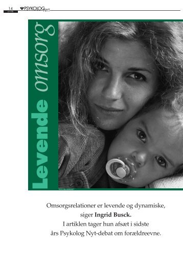 Levende omsorg - Elbo