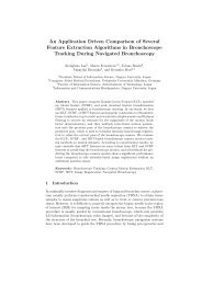 An Application Driven Comparison of Several Feature Extraction ...