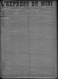 15 Janvier 1900 - Bibliothèque de Toulouse