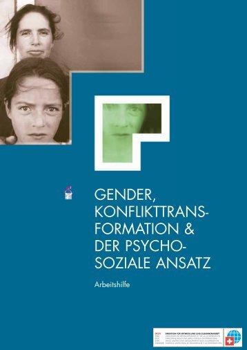gender, konflikttrans- formation & der psycho- soziale ... - Deza - CH