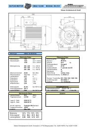DMA2 132 M4 B34a - Stoewer Antriebstechnik