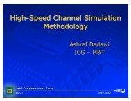 Presentation - High-Speed Channel Simulation Methodology