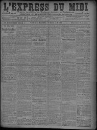 31 mars 1899 - Bibliothèque de Toulouse
