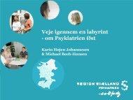 Servicemål i Psykiatrien - Region Sjælland