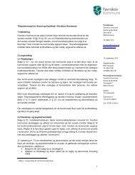 1 Tilsynskoncept for Social og Sundhed i Favrskov Kommune 1 ...