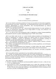 Lovforslagets - Energiforum Danmark