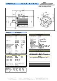 DM1 225 M2 B5 - Stoewer Antriebstechnik
