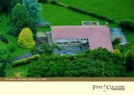 THE GARTH   FIR TREE   CROOK   DL15 8DZ - Fine & Country