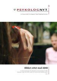 Blikket rettet mod ADHD - Elbo