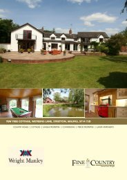 yew tree cottage, wetreins lane, stretton, malpas ... - Fine & Country