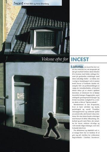 Voksne ofre for INCEST - Elbo