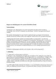 NOTAT Rapport om udlejningspriser for arealer til kolonihaveformål ...
