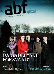 DA GADELYSET FORSVANDT - ABF