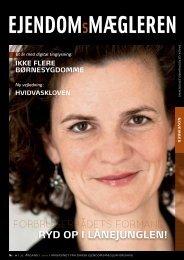 Udgave 10, november måned 2010 - Dansk Ejendomsmæglerforening