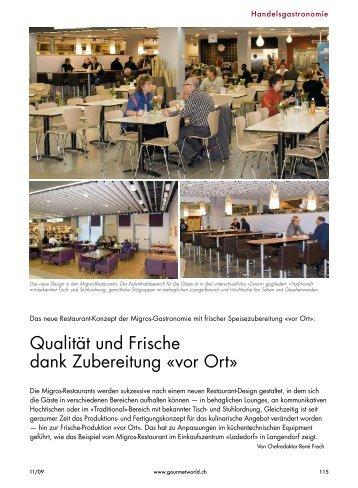 Migros-Restaurants - wiba-ag.ch Home
